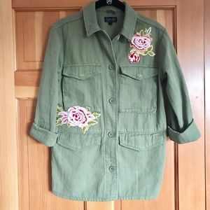 Top shop military jacket